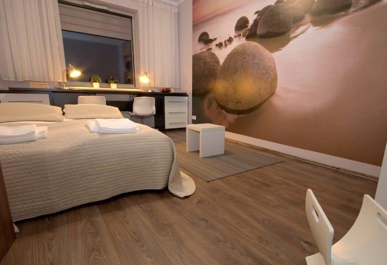 IRS ROYAL APARTMENTS - IRS Rezydencja Marina, Gdansk, Leilighet, 2 soverom, tekjøkken (Opti Suite), Rom