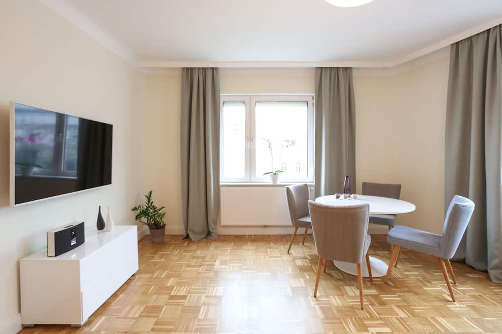 Апартаменты «Премиум», 1 спальня, кухня - Гостиная