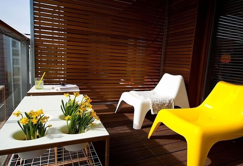 IRS ROYAL APARTMENTS - IRS Nadmorski Dwór, Gdansk, Apartment, 1 Bedroom (Wsrod drzew), Terrace/Patio