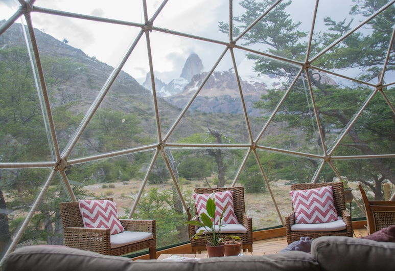 Patagonia Eco Domes, El Chalten, Opholdsområde