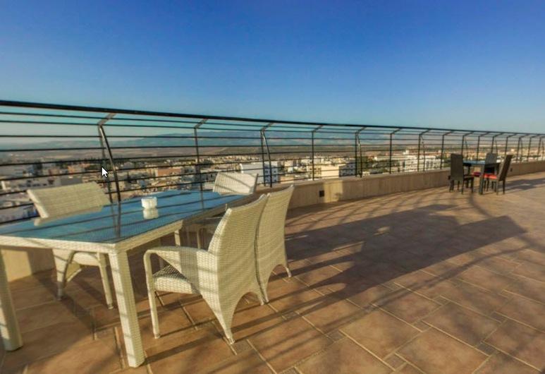 Hotel Tafilalet & Spa, Meknes, Vakarienės lauke