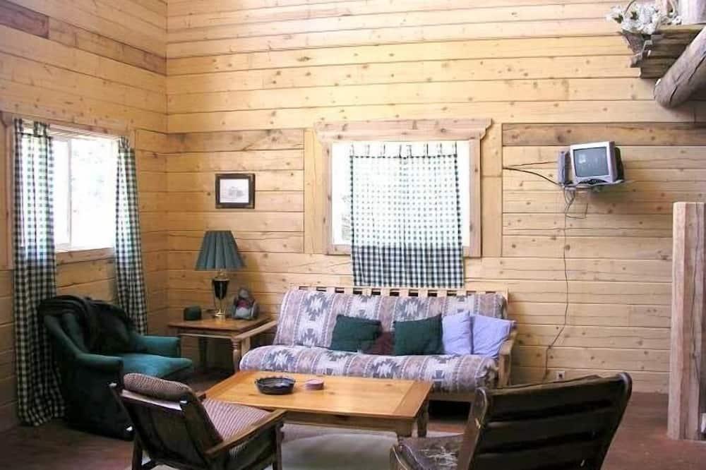 特級小屋, 多間臥室, 山景 (River Access) - 客廳