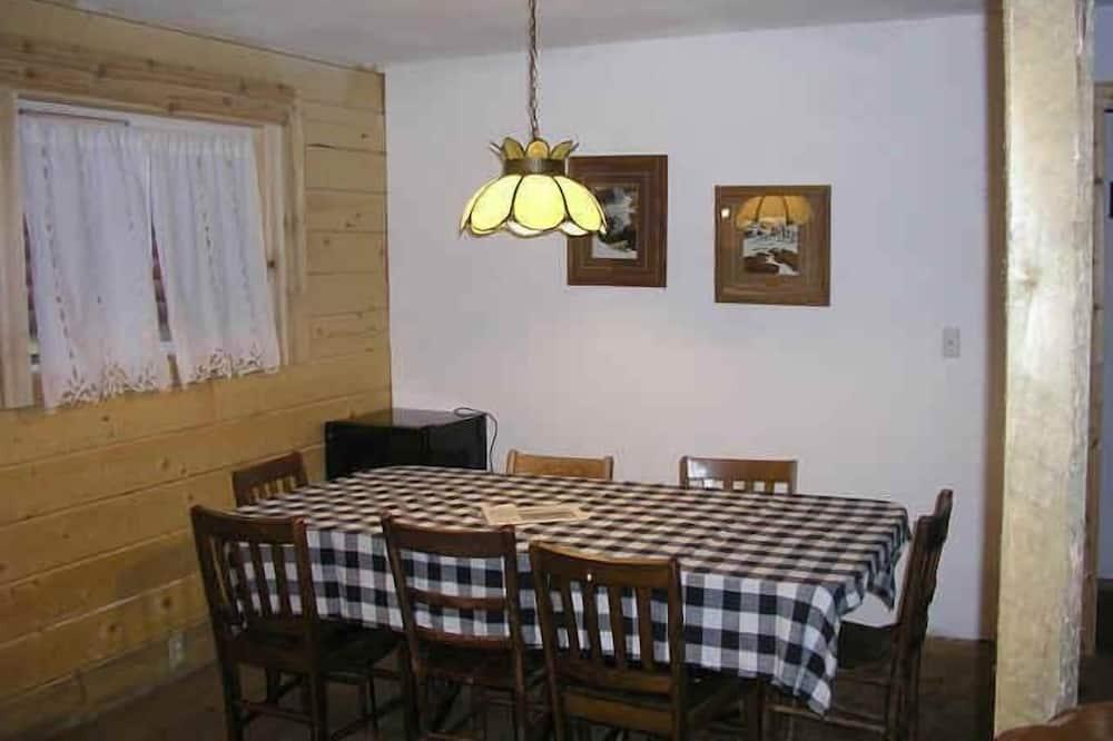特級小屋, 多間臥室, 山景 (River Access) - 客房內用餐