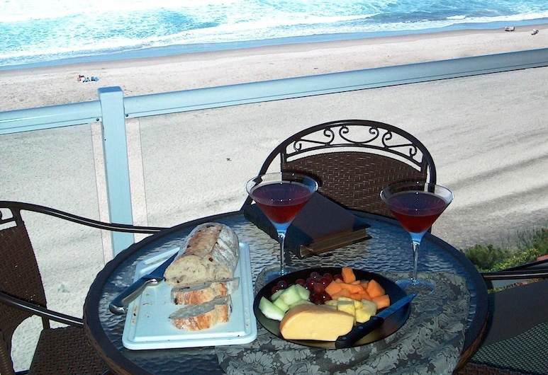 Nelscott Manor, Lincoln City, Luxury Suite, 2 Bedrooms, Hot Tub, Oceanfront (Access via Stairs), Balkoni