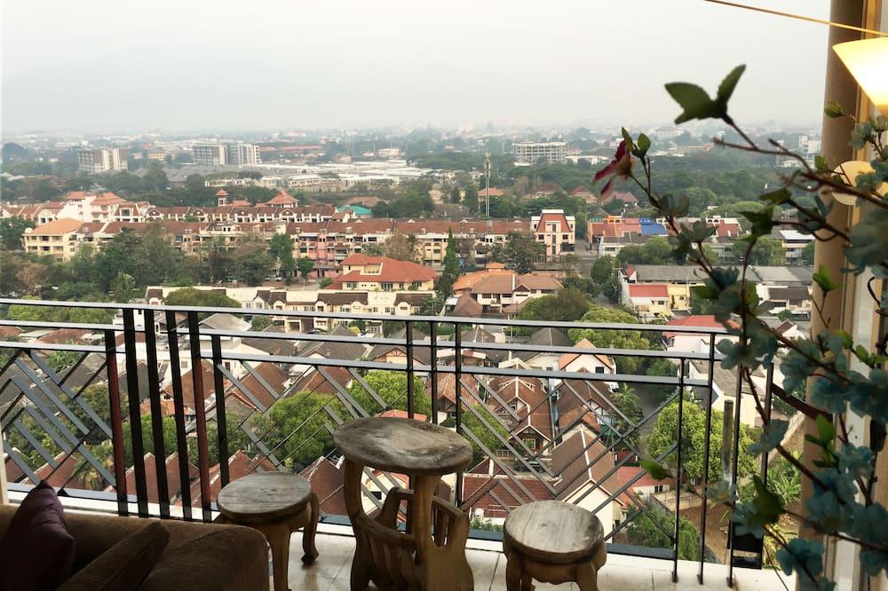 بنتهاوس رئاسي - منظر للجبل - في طابق الغرف التنفيذية - شُرفة