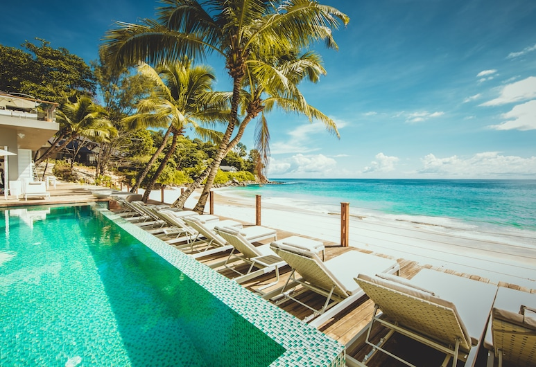 Carana Beach Hotel, Mahe Island, Outdoor Pool
