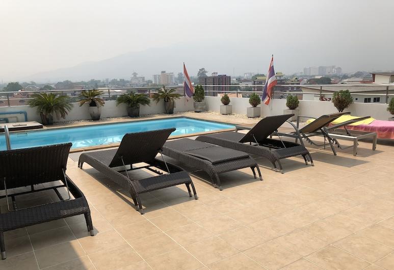 Smith Residence, Chiang Mai, Basen na dachu