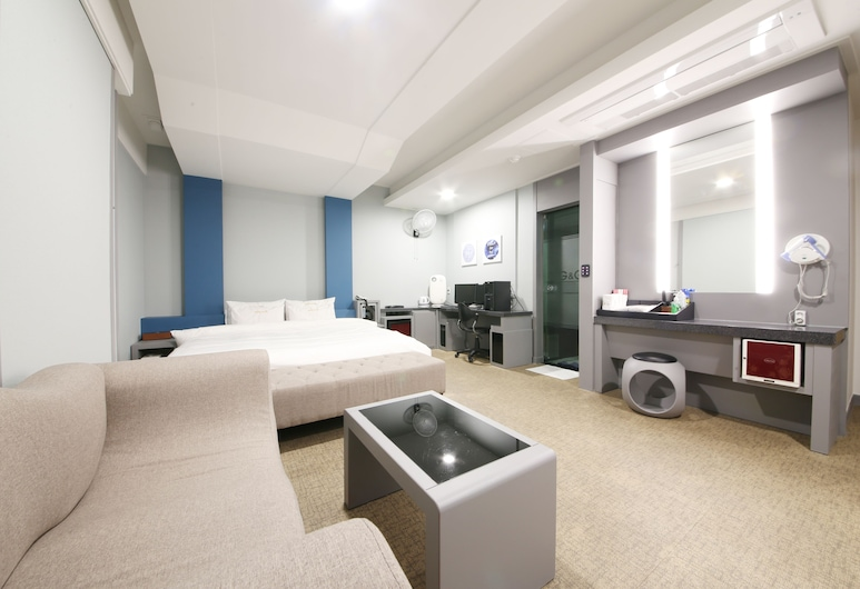 G&G Hotel Haeundae, Busan, Superior Double Room, Guest Room