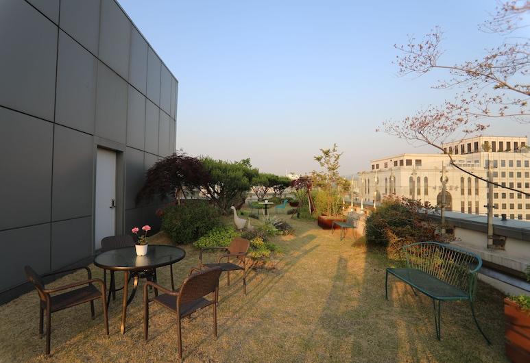 首爾東大門梅普雷斯飯店, 首爾, 花園