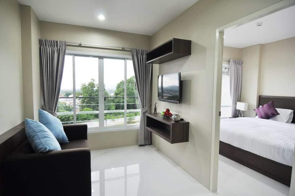 디럭스룸, 침실 1개 - 거실 공간