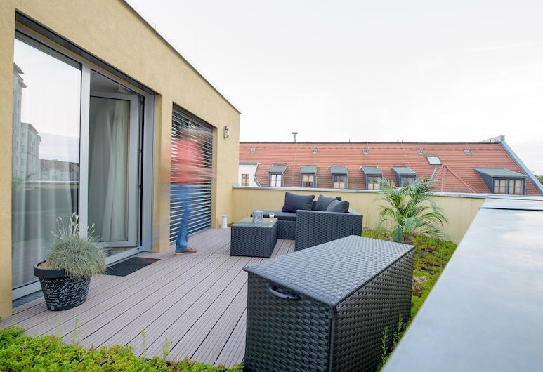 Book Hotel Leipzig, Leipzig, Suite Junior, Teras/Patio