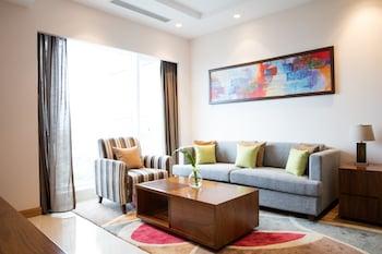 Foto van Oakwood Residence Kapil Hyderabad in Hyderabad