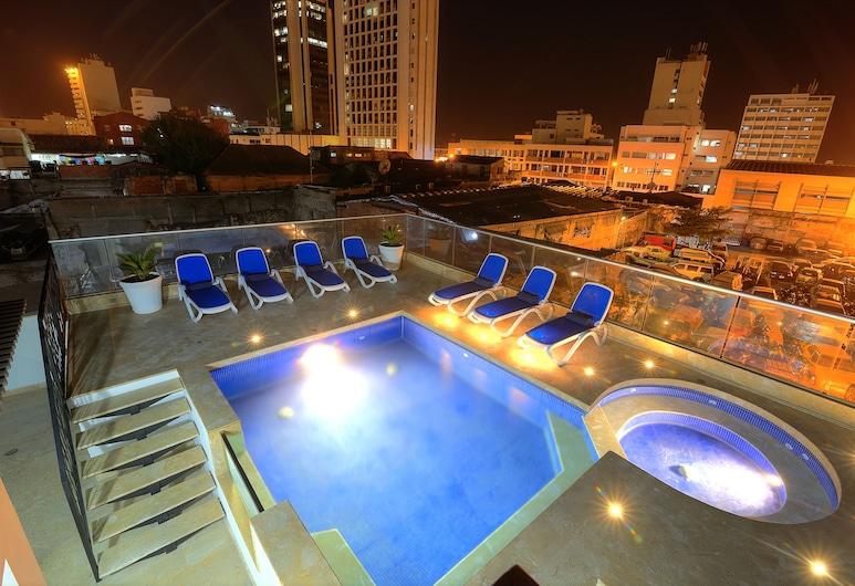 Hotel Boutique La Artillería, Cartagena, Pool auf dem Dach
