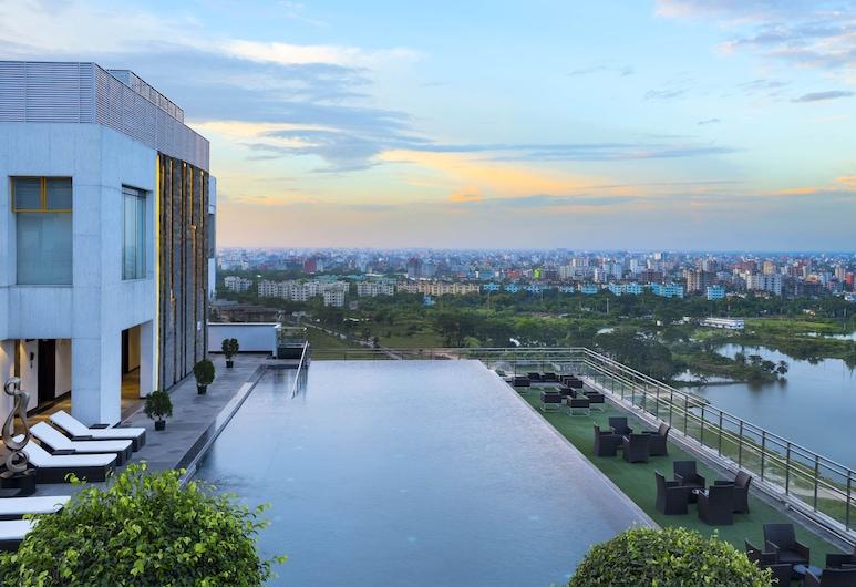 Le Meridien Dhaka, Daka, Žemesnės liukso klasės numeris, 1 labai didelė dvigulė lova, Nerūkantiesiems, Sporto salė