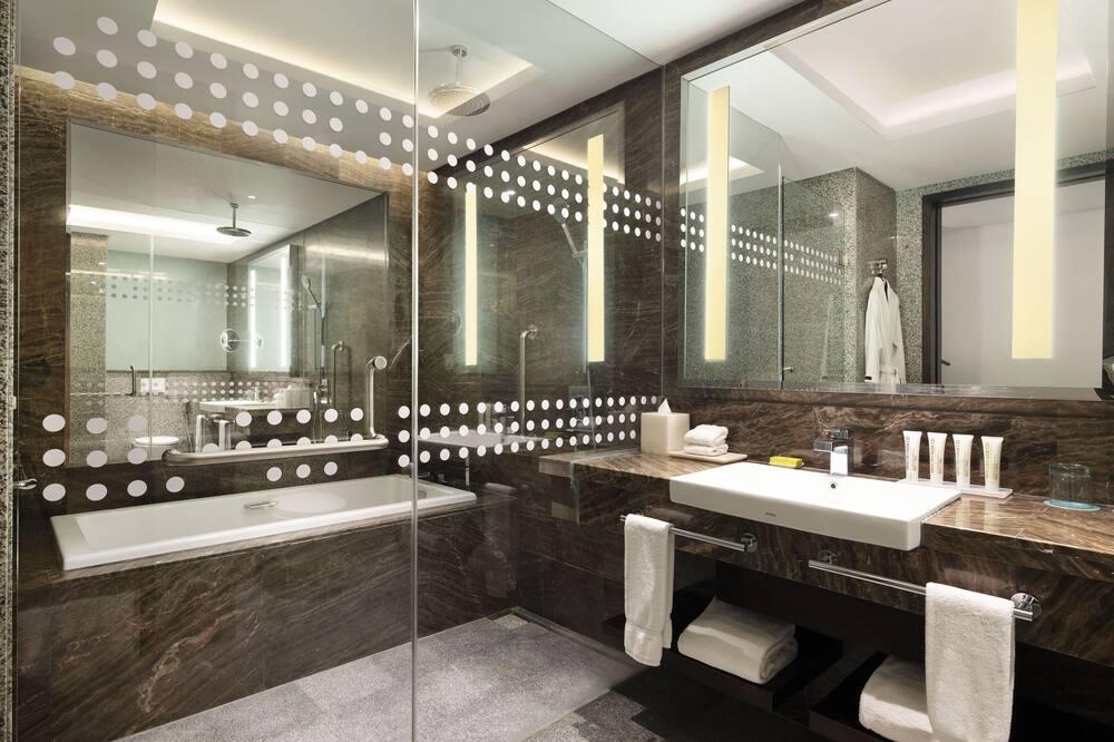 Numeris verslo klientams, 1 miegamasis, Nerūkantiesiems - Vonios kambarys