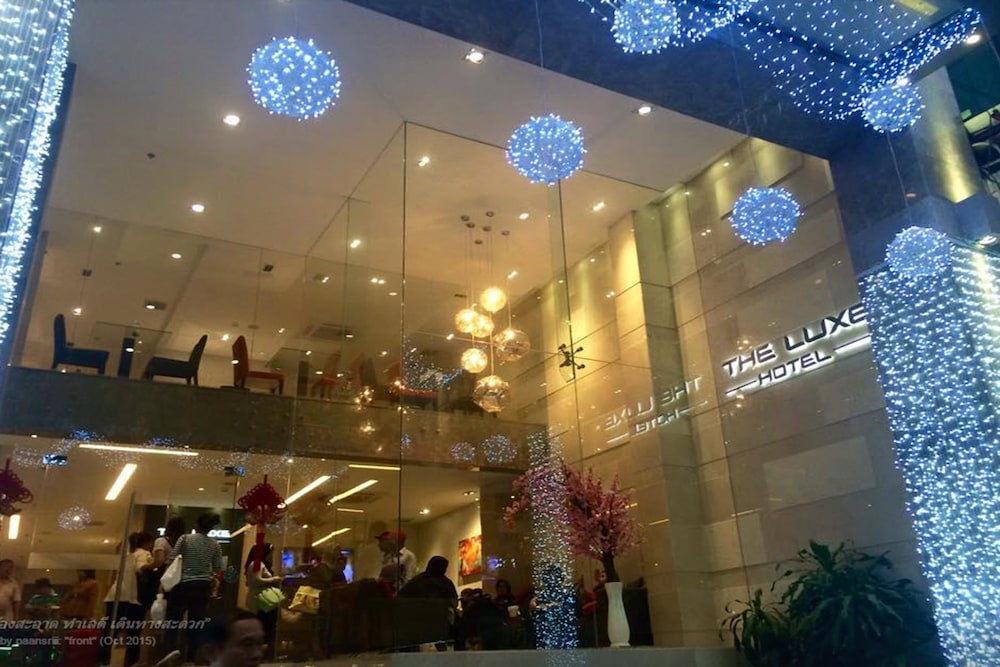The Luxe Hotel Ho Chi Minh City Entrance