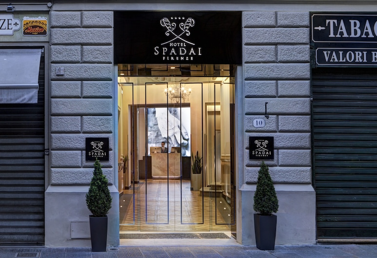 Hotel Spadai, Florence, Hotel Entrance