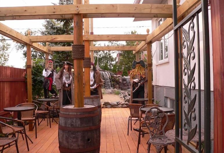 L'Oasis du Pirate B&B, Quebec, Terrass