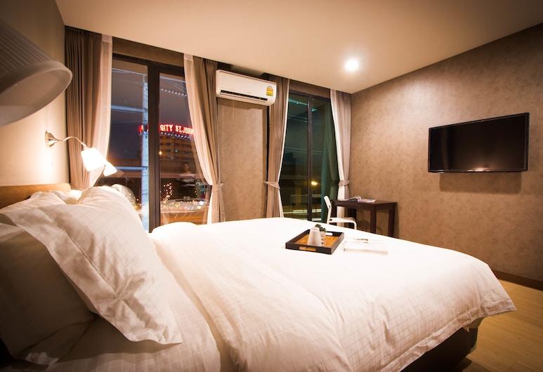 C U Inn Bangkok, Bangkok, Deluxe-Einzelzimmer, Zimmer