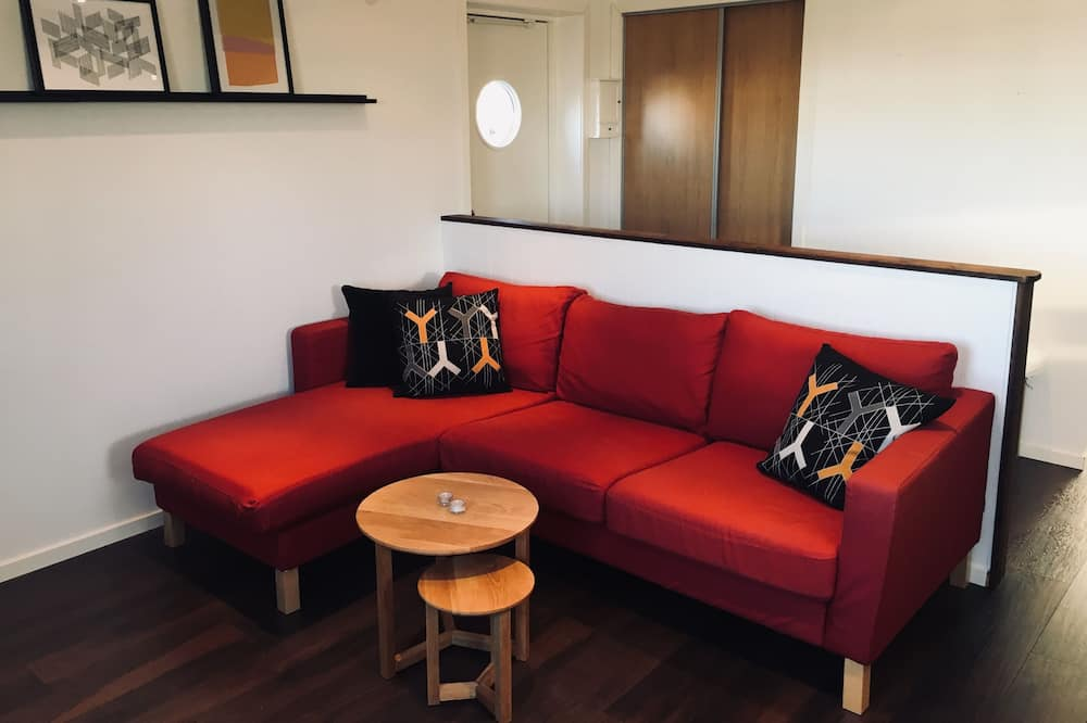 Deluxe Penthouse, 1 Bedroom - Living Area