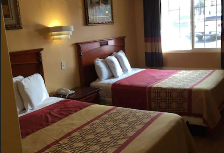 National City Motel, Нэшнл-Сити, Стандартный номер, 2 двуспальные кровати, для курящих, Номер