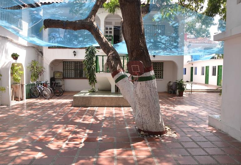 瓦哥斯之家酒店, Cartagena, 庭園