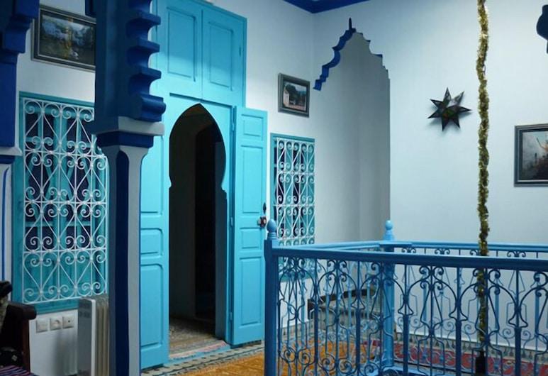 Riad Nerja Chaouen, Chefchaouen, Hotellet innvendig