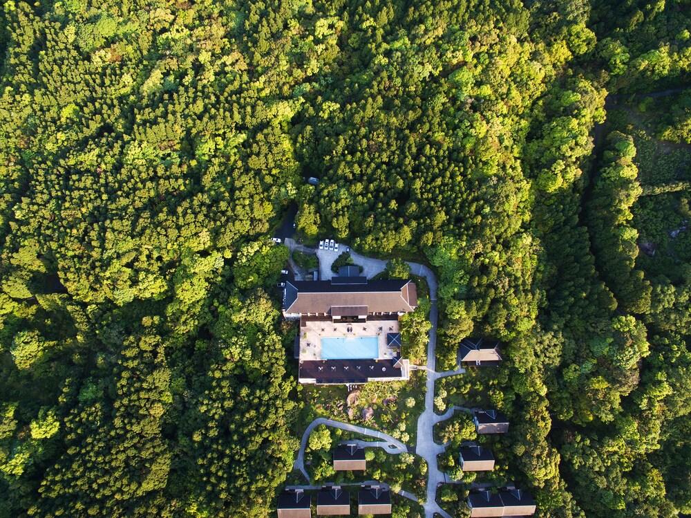 Sankara Hotel Spa Yakushima Aerial View