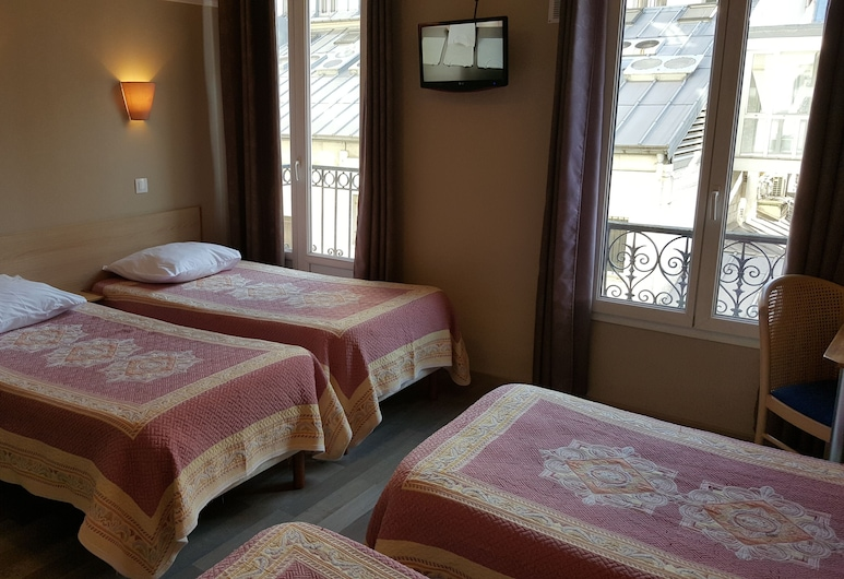 Hotel Angleterre, Paris, Fyrbäddsrum, Gästrum