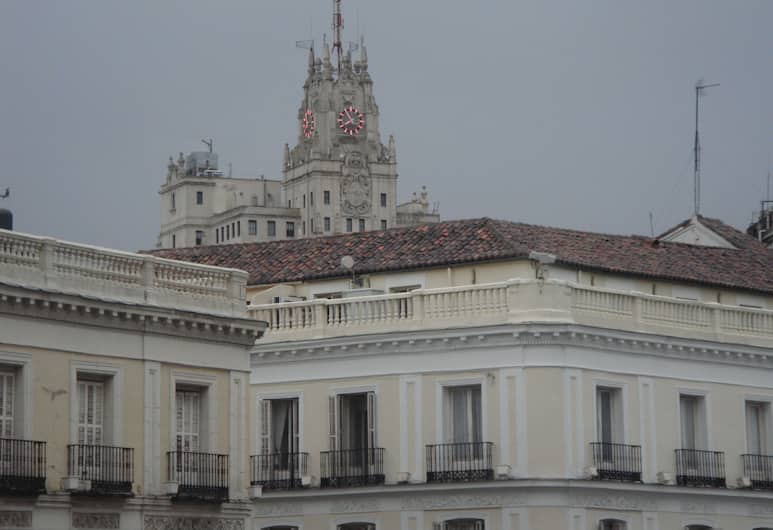 Hostal Riesco, Madrid, View from Hotel