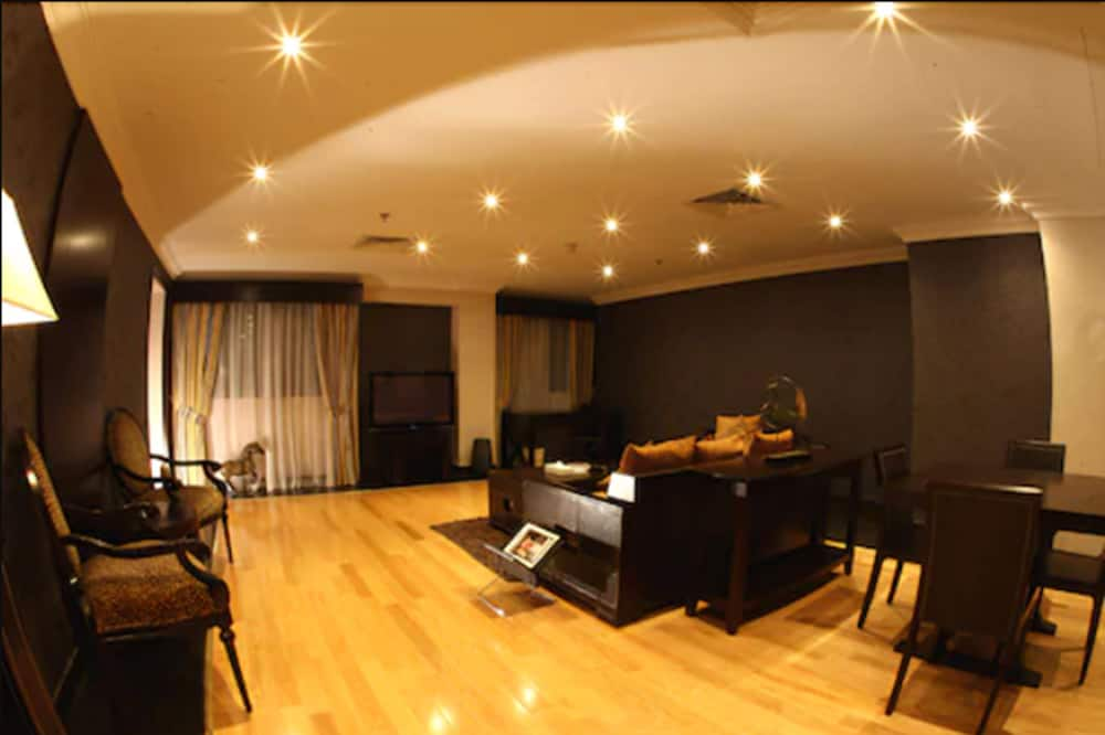 Standard-Doppel- oder -Zweibettzimmer - Wohnzimmer