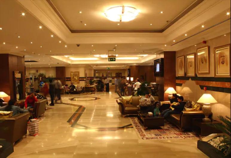 Abjad Grand Hotel, Dubai, Lobby Sitting Area