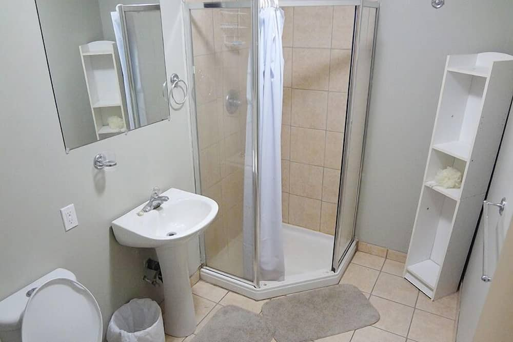 客房, 1 張標準雙人床, 共用浴室 - 浴室