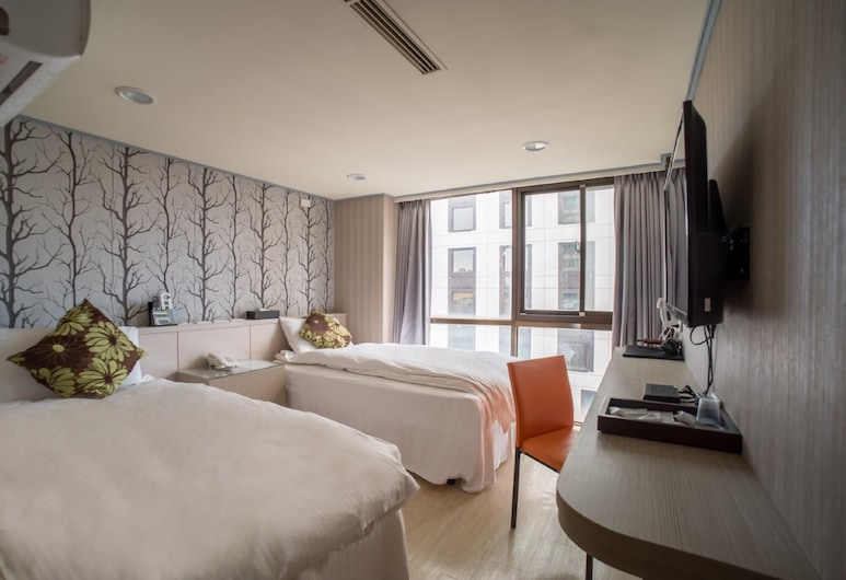 You-Ting Life Hotel, Kaohsiung, Business Twin Room, Guest Room