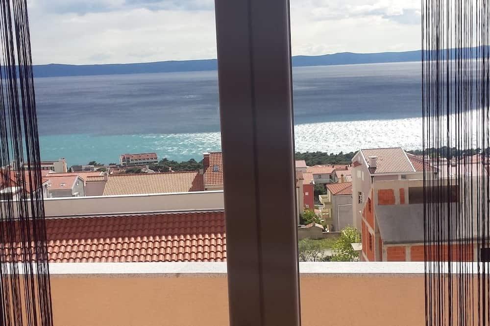 極品公寓, 2 間臥室, 陽台, 海景 - 客房景觀