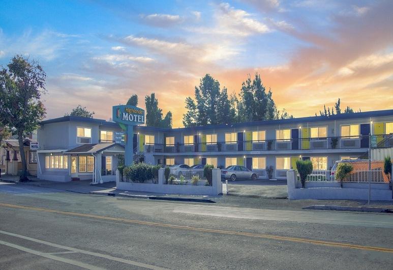 Highlander Motel, Oakland, Pohľad na hotel