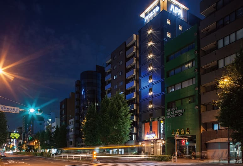 APA Hotel Asakusabashi-Ekikita, Tokyo, Dış Mekân