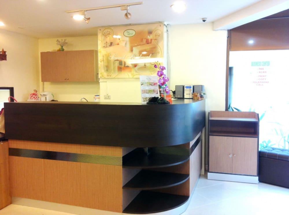 The Nest Serviced Apartment, Bangkok, Reception