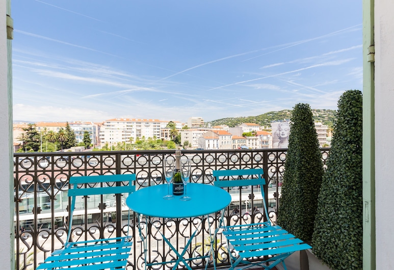 Florella Jean Jaurès, Cannes, Standaard appartement, 2 slaapkamers, keuken, Balkon