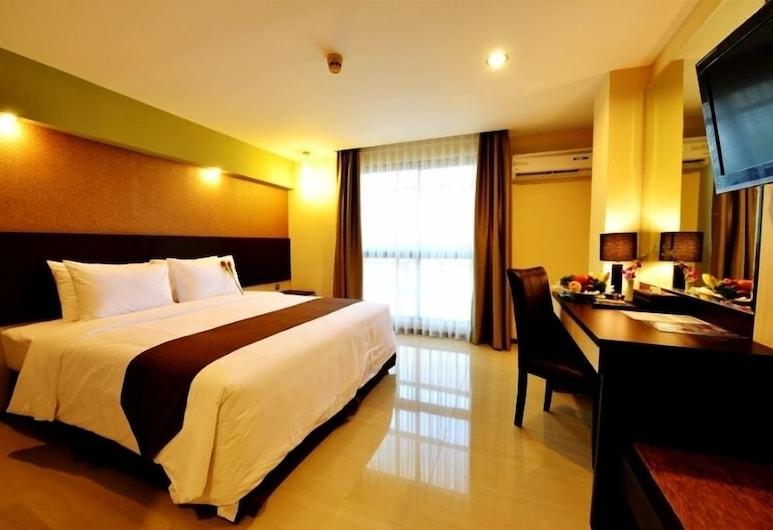 The Naripan Hotel by Amazing, Bandung, Deluxe - kahden hengen huone, Vierashuone