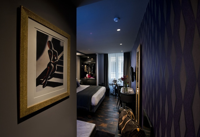 HT6 Boutique Hotel, Rome, Superior Double or Twin Room, Living Area