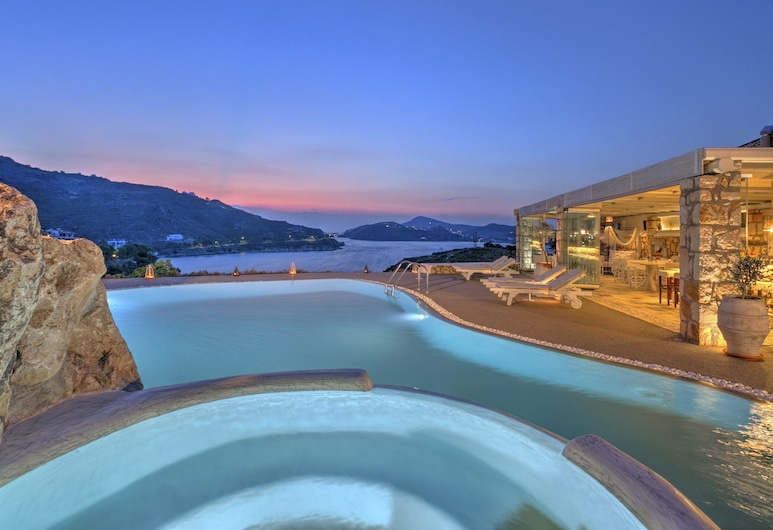 Eirini's Luxury Hotel Villas, Patmos, Kolam