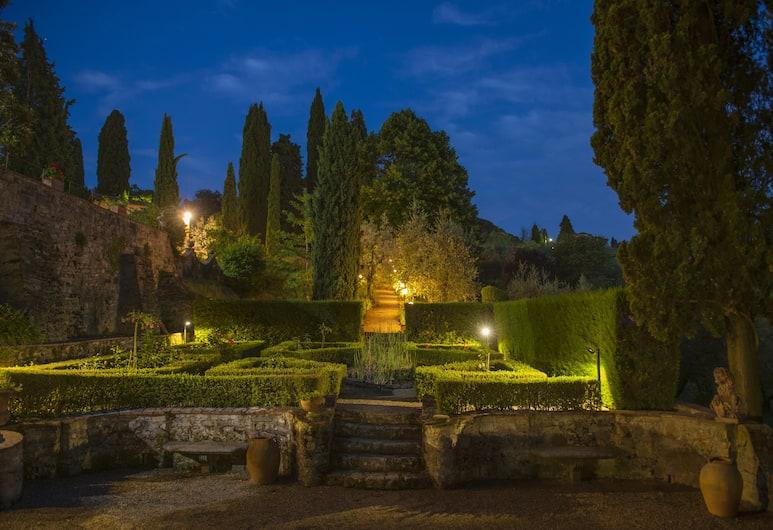 Art Hotel Villa Agape, Florencie, Zahrada