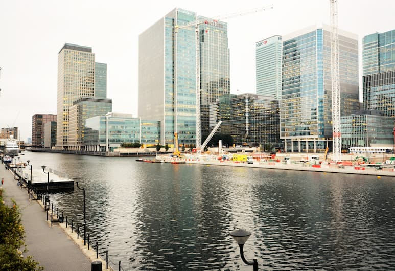 Zen Apartments - Docklands, London, Aerial View