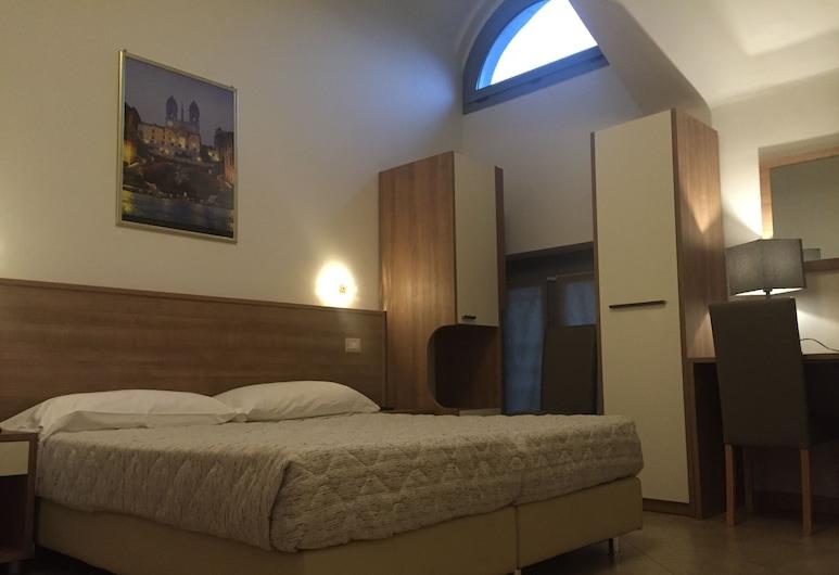 Hotel Montecarlo, Milano, Dobbeltrom for 1 person, Gjesterom