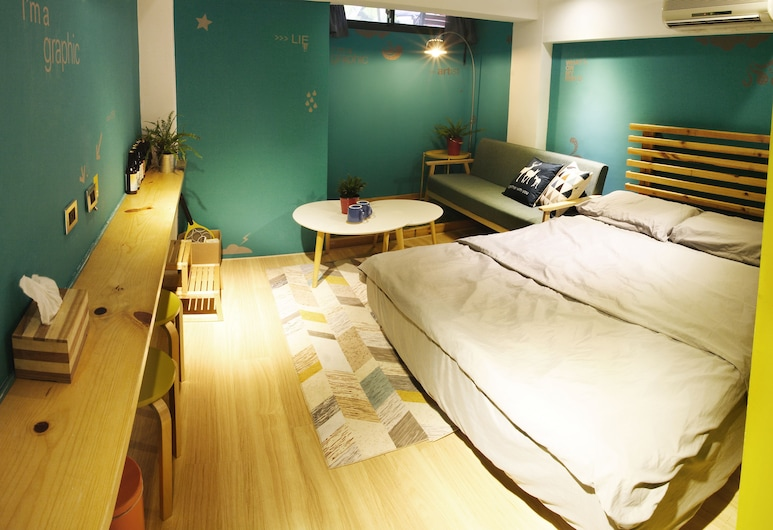 Leo ho Hostel, Tainan, Economy Twin Room, 2 Single Beds, Private Bathroom, Guest Room