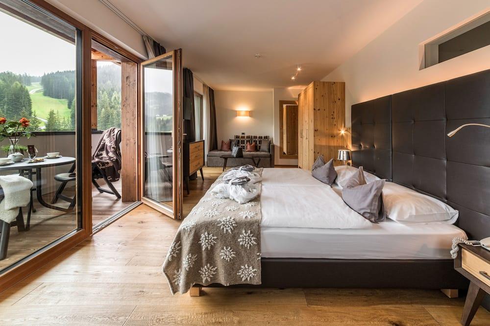 Habitación cuádruple panorámica - Zona de estar
