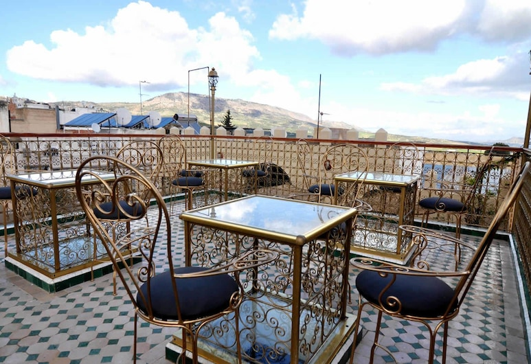 Dar Al Madina Al Kadima, Fès, Terrasse/Patio