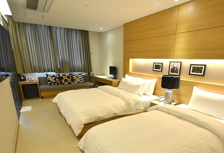 Hotel Cacao, Incheon, Deluxe Twin Room (Air Cleaner), Guest Room