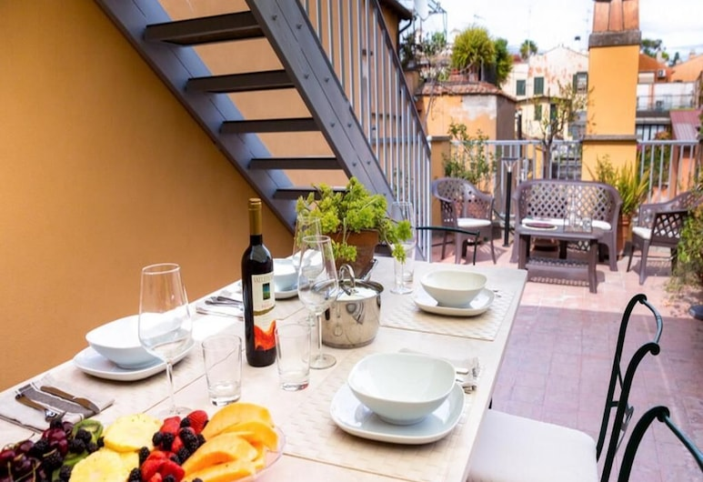 Grand Master Suites, Rome, Deluxe Apartment, 2 Bedrooms, 2 Bathrooms, Annex Building, Terrace/Patio